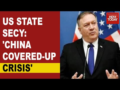 US Targets China: US State Secretary Mike Pompeo Slams China On Covid Says 'China Covered-Up Crisis'