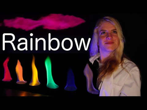 Thumbnail: Rainbow Colored Flame(thrower) Science Experiment!