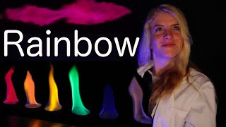 Rainbow Colored Flame(thrower) Science Experiment!