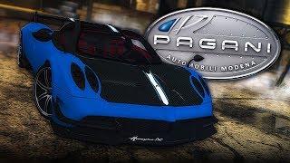 NFS Most Wanted | Pagani Huayra BC Mod Gameplay [1440p60]