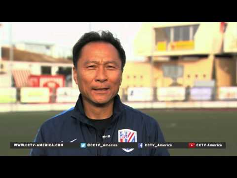 Chinese football club sends players to Spain for development