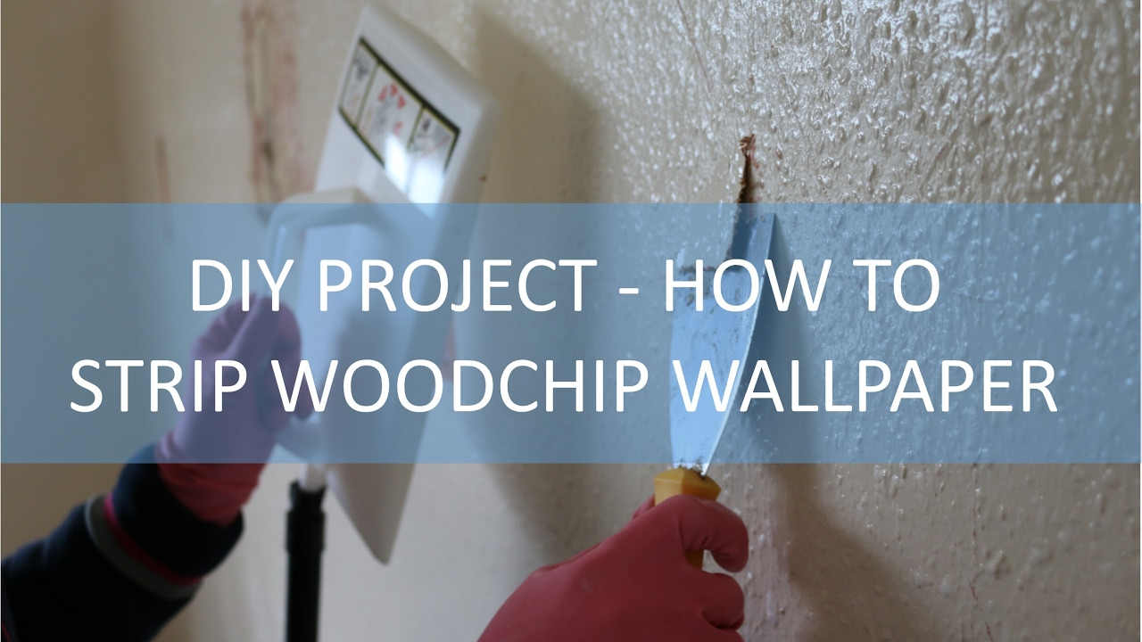 best way to strip woodchip