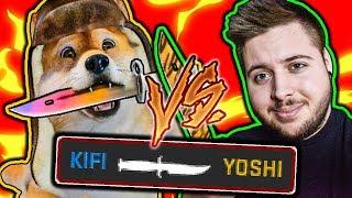 ZNALAZŁEM KOSĘ w CS:GO ! - Szukanie KOSY - KiFi vs Yoshihito
