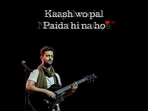 The amazing song kash vo pal paida hi na ho