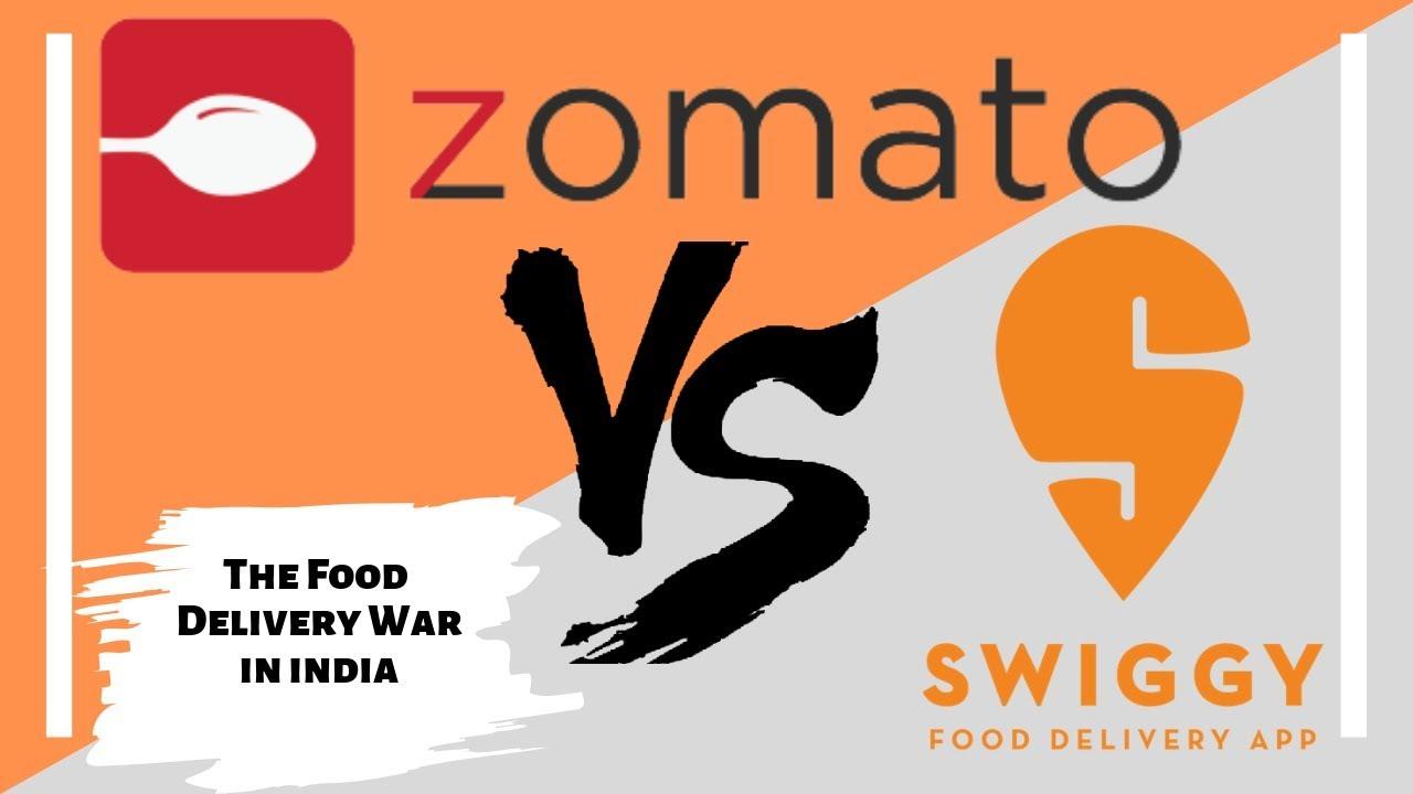 SWIGGY VS ZOMATO | The food delivery business in India| Comparison