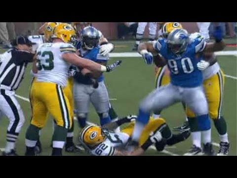 Ndamukong Suh stomps on opponent, likely to be suspended