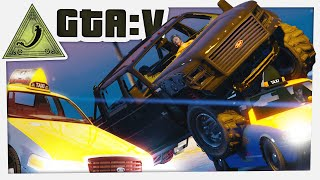 GTA 5 Funny Moments - DEATH TAXI (Chilluminati)