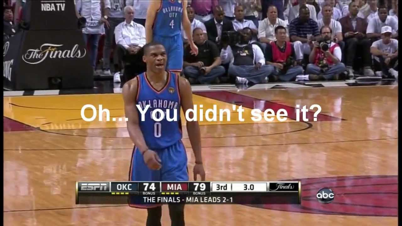 Rigged? Destroying Basketball... 2012 NBA Finals flops and refereeing in favor of Miami Heat ...