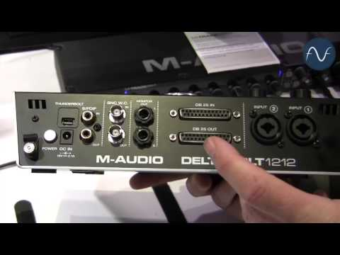 [NAMM M-Audio Deltabolt 1212 Audio Interface