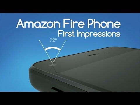 Amazon Fire Phone First Impressions - Androidizen