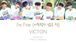Video VICTON [빅톤] - I'm Fine [아무렇지 않은 척] (Color Coded Lyrics | Han/Rom/Eng) download MP3, 3GP, MP4, WEBM, AVI, FLV Januari 2018
