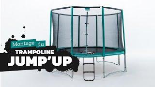 France Trampoline - Vidéo de montage Trampoline rond Jump'Up