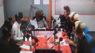 MADTOWN respondendo à pergunta do Madtown Brasil no Arirang Radio