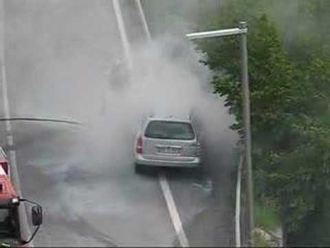 Andorra car fire
