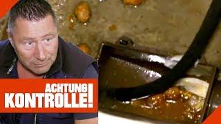 Alles voller Speisereste - Verstopfung durch Rohrbruch! Rohrreiniger am Werk! | Achtung Kontrolle