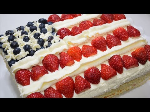 Fourth Of July Special - American Flag Cake