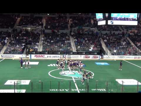 Strike It Up Halftime Performance at Rochester Knighthawks 118