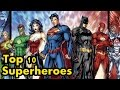 Top 10 Marvel And DC Superheroes