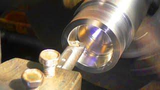 Сложный ремонт вала стиральной машины Bosch.  Извлекаю сваркой обоймы подшипников