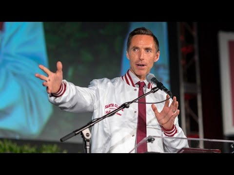Steve Nash Santa Clara Athletic Hall of Fame Induction Speech