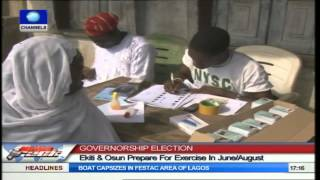 Ekiti,Osun States Prepare For Governorship Elections