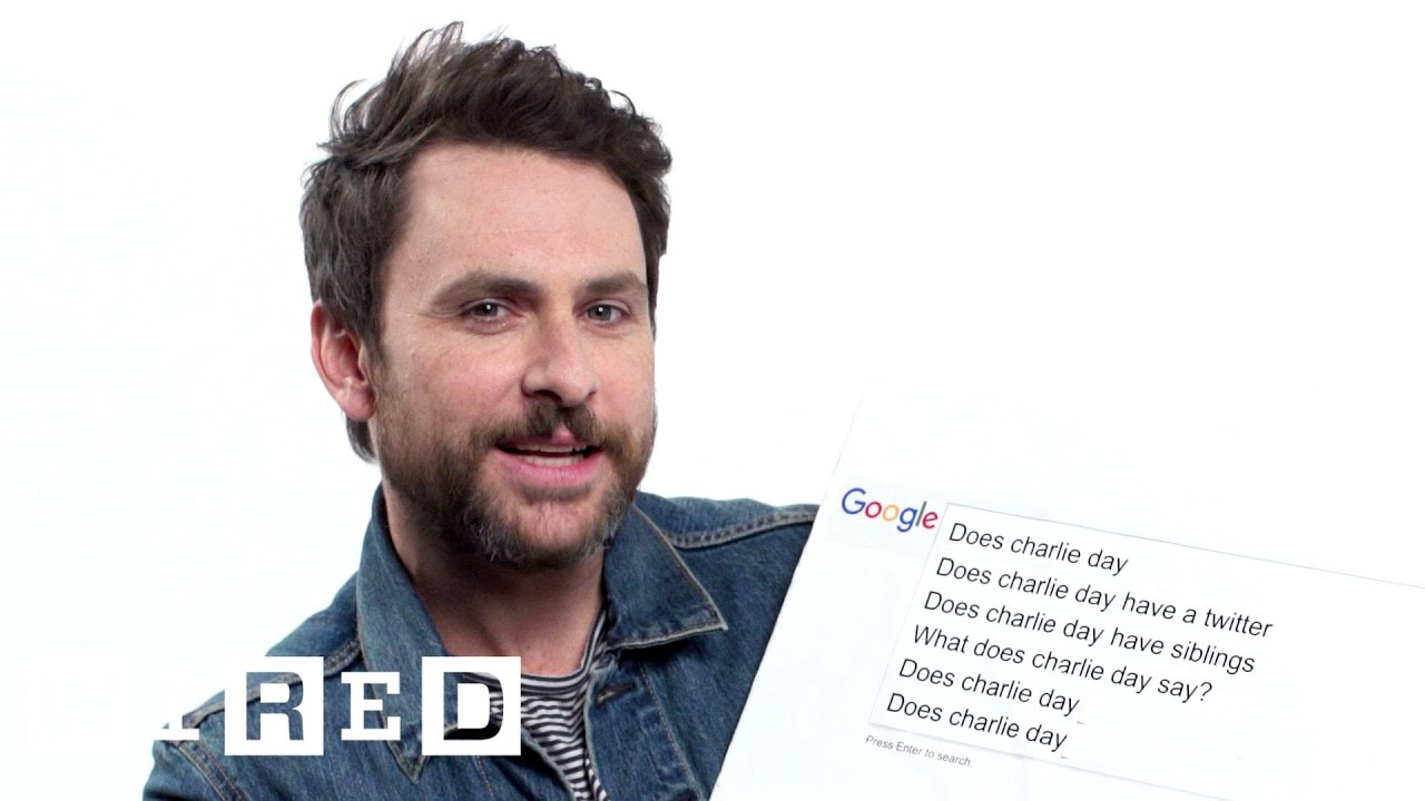Charlie Day Answers the Web\'s Most Searched Questions | WIRED - YouTube