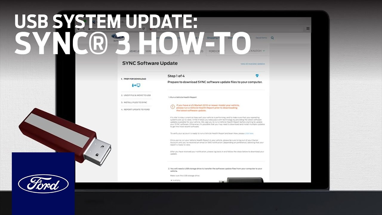 Sync 3 Usb System Update Installation How To Ford Youtube Way Switch Wiring Diagram Adding Schematic