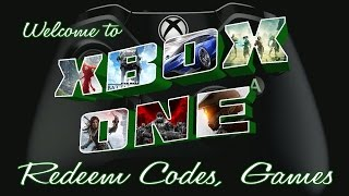 Redeem Game Codes on Xbox One and more..