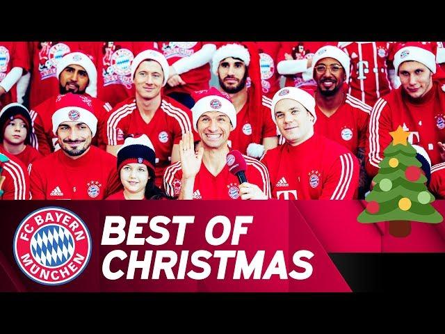 Fc Bayern Wünscht Frohe Weihnachten.So Feiern Die Bundesliga Klubs Weihnachten Im Netz