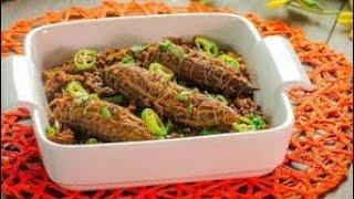 Qeema bhare karela recipe stuffed karela recipe in punjabi style recipe part 1/1