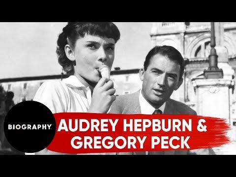 BIO Shorts: Gregory Peck Secures Audrey Hepburn's
