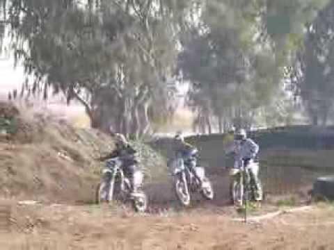 racing at cycleland speedway