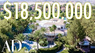 Download Inside an $18.5M Las Vegas Estate with a 21 Foot Waterfall | On the Market | Architectural Digest Mp3 and Videos