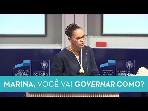 Palestra de Marina Silva na Universidade de Oxford