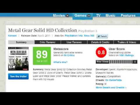 PS3 Has No Games - Amazing Metacritic review scores!