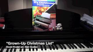 Watch David Foster Grownup Christmas List video