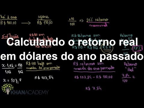 calculando-o-retorno-real-em-dólares-do-ano-passado-|-macroeconomia-pib-|-khan-academy