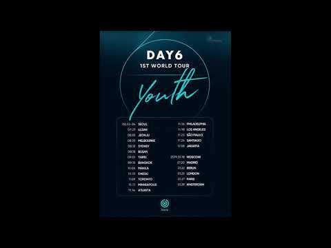 DAY6 vont faire un concert a PARIS !!