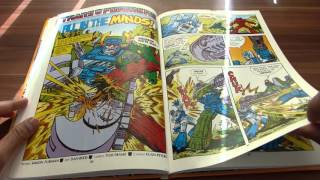 turning the pages and having a closer look at a transformers annual...