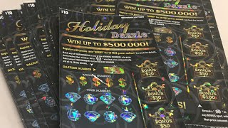 NEW HOLIDAY DAZZLE FULL BOOK LIVE MICHIGAN LOTTERY
