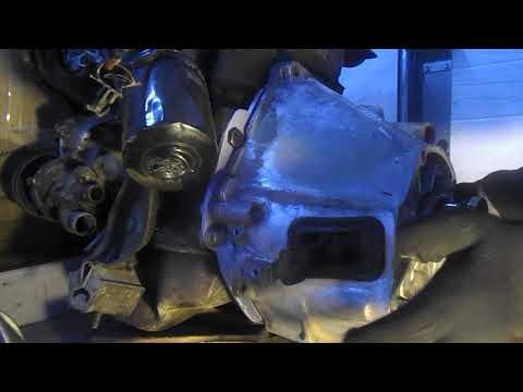 Дизель VW в НИВУ . Переходная плита .