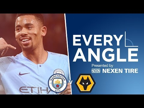 Gabriel Jesus on 🔥 | EVERY ANGLE | Man City vs WOLVES Mp3