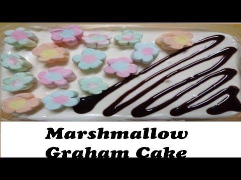 No-bake marshmallow graham cake / Icebox cake