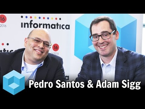 Pedro Santos, CIT Group & Adam Sigg, Infoverity - #infa16 - #theCUBE
