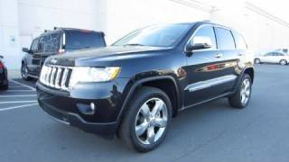 2011 Jeep Grand Cherokee Overland 4X4 5.7 Start Up, Engine, and In Depth Tour