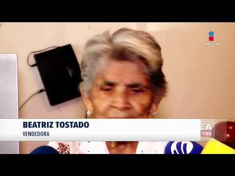 Abuelita Vendedora De Donas Se Vuelve Viral Y Aumenta Sus Ventas | Noticias Con Francisco Zea