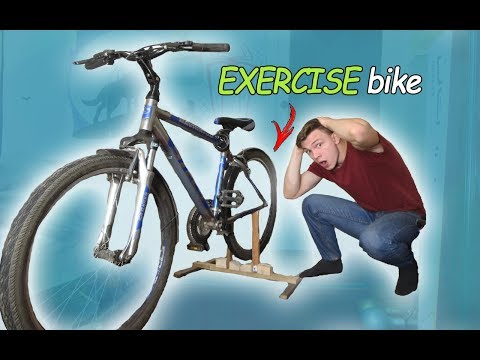 HOW TO MAKE AN EXERCISE BIKE | HOW IT WORKS ?!