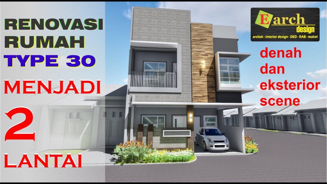 Desain Renovasi Rumah Type 27/60 - Gambar Desain Renovasi ...