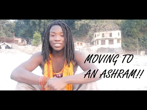 Moving to an Ashram; Ved Niketan!! India Travel Vlog #2