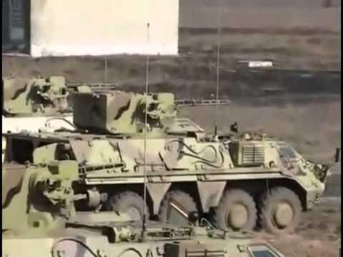 Тест  БТР-4 перед передачою армії Іраку.mp4